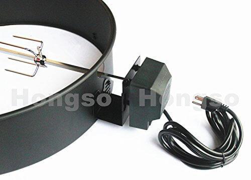 Hongso CGR001 Charcoal Kettle Rotisserie Kit 2290 for ...