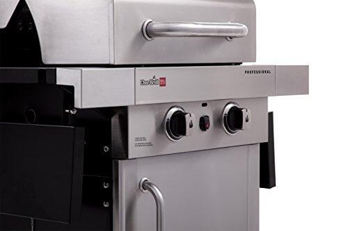 Char Broil Professional Tru Infrared 2 Burner Cabinet Gas