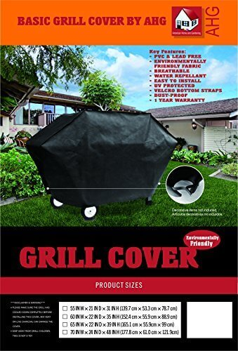 American Home and Gardening Basic BBQ Grill Cover – 60″