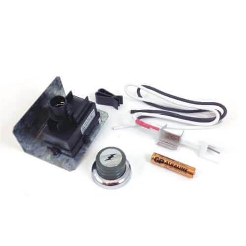 Weber 67847 Battery Electronic Igniter Kit with Ceramic Collector Box for Genesis (2008-2010)