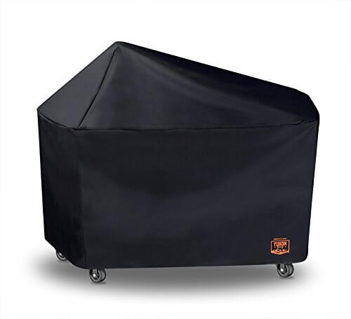 Yukon Glory 8268 Premium Grill Cover for Weber Performer Premium and Deluxe Charcoal Grills, 22-Inch (Compare to Weber 7152)