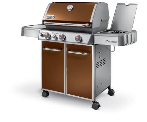 Weber Genesis 6532001 E-330 637-Square-Inch 38,000-BTU Liquid-Propane Gas Grill, Copper