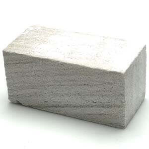 Grillmaster Grill Cleaning Pumice Stone – Large Stone Size: 5 3/4″ x 2 3/4″ x 2 3/4″