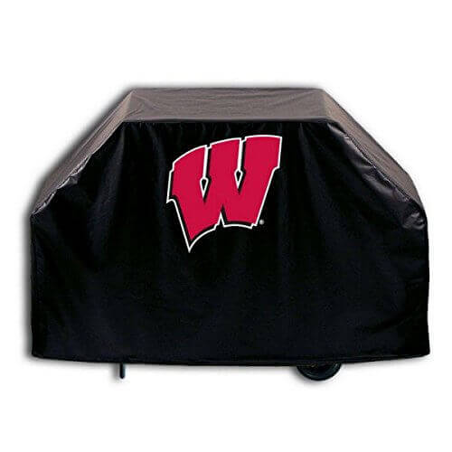 Holland Bar Stool GC60Wisc-W 60 in. Wisconsin W University Grill Cover