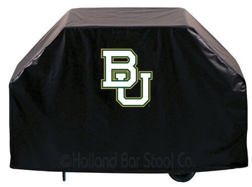 NCAA Baylor Bears Grill Cover, Black, 72″