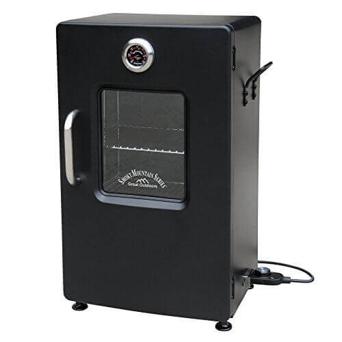 Landmann USA Smoky Mountain Electric Smoker with Viewing Window, 26″