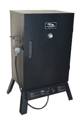 Masterbuilt 20050211 Black Propane Smoker, 40-Inch