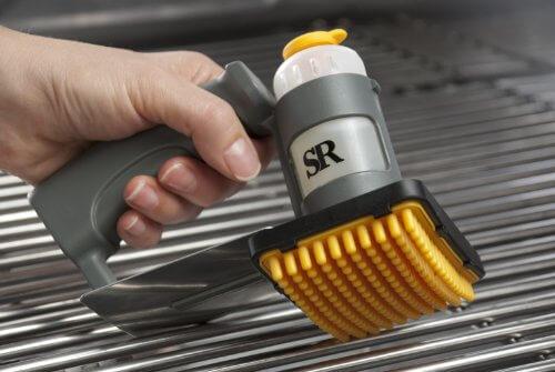 Grilling Grate Oiler Brush