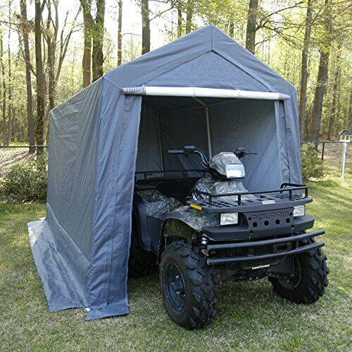 King Canopy 7 by 12-Feet Garage – Fully Enclosed