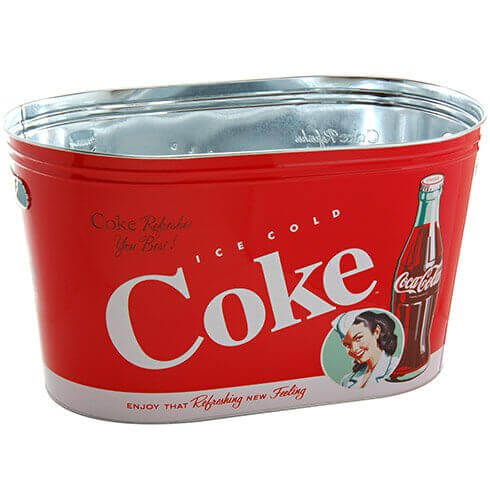 Coke Tin Party Tub