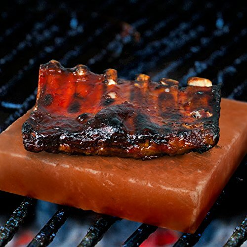 Himalayan Salt Block for Grilling (Large 8″ x 8″) – FDA Approved All Natural Cooking Slab