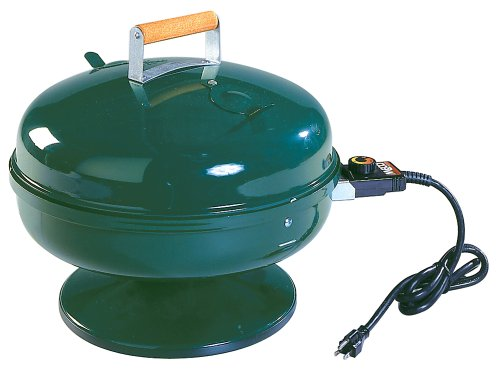 Easy Street Lock 'N Go Electric Grill in hunter green