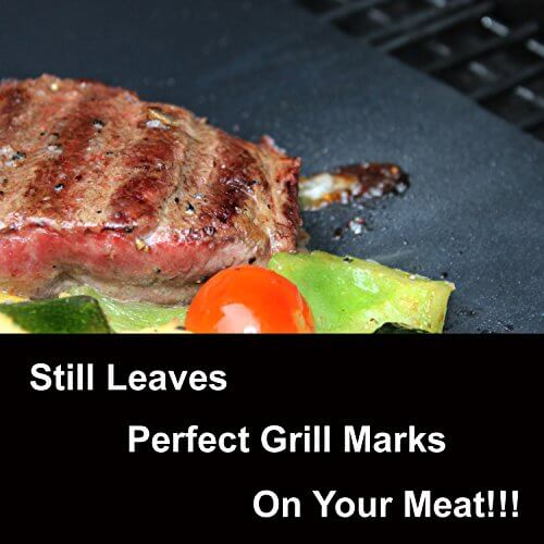 Nonstick Bbq Grill Mat Perfect For Charcoal Electric