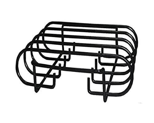 BBQ funland (1-pack) porcelain coated steel Non-Stick Roasting / Rib Rack