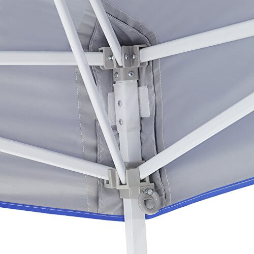 E-Z UP Vista Instant Shelter Canopy, 12 by 12′, Royal Blue