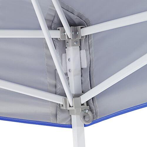 E-Z UP Vista Instant Shelter Canopy, 12 by 12′, Royal Blue