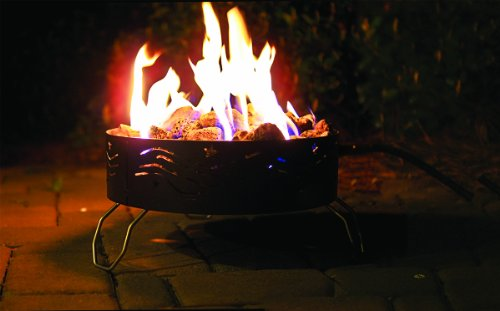 Camco 58041 Portable Propane Campfire with Storage Bag