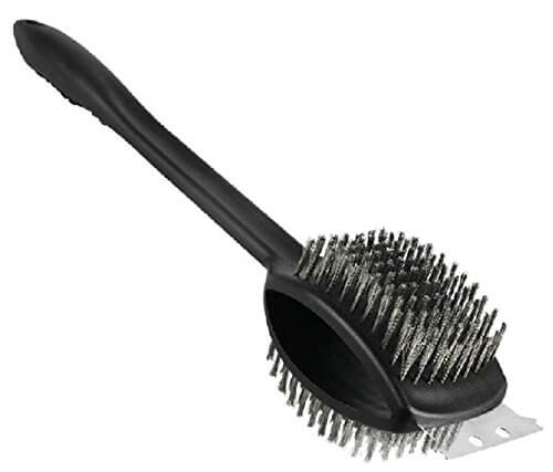 Barbecue Grill Brush & Scraper – 17″ Double-Headed Heavy Duty BBQ Grill Brush