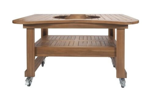 Primo Teak Table For Oval Large