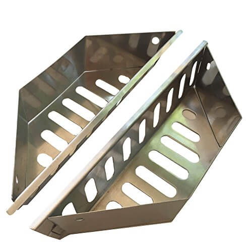 Heavy Duty Stainless Steel Charcoal Baskets for Weber Grills