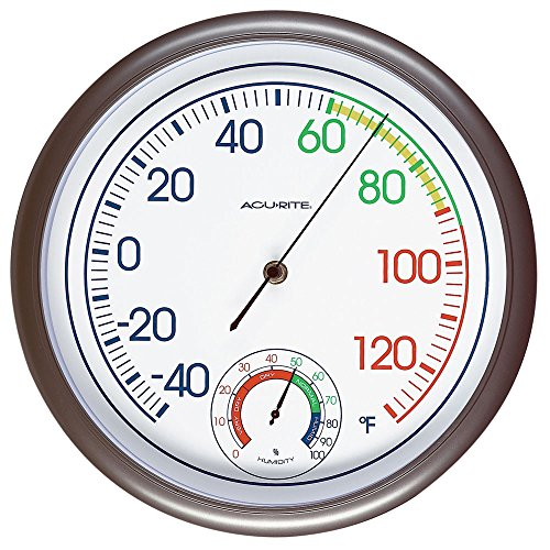 AcuRite 02362 11-Inch Thermometer and Hygrometer
