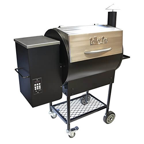 Pellet Pro Deluxe Stainless 770 Pellet Grill – With a 35# Capacity Hopper & FREE 100# BBQ Pellets