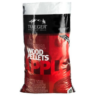 Traeger PEL318 Apple Pellets Bag, 20 lb