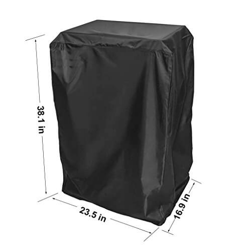 Onlyfire Durable 40-Inch Electric Smoker Cover, Black