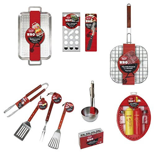 TableCraft BBQ Series 14pc Ultimate Barbeque / Grilling Tool Set