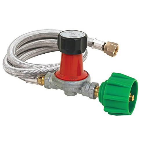 Bayou Classic 0-30 PSI Adjustible Regulator/Hose Assembely