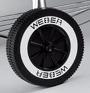 Weber # 65930 6″ Replacement Wheel For Charcoal Grills,