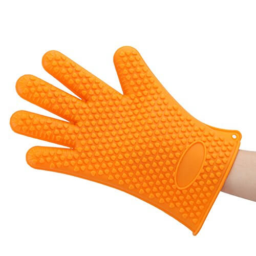 GF Pro Silicone Heat Resistant Multi-Purpose Grilling Bbq Gloves for Baking, Opening Jars (GFPSG-O)