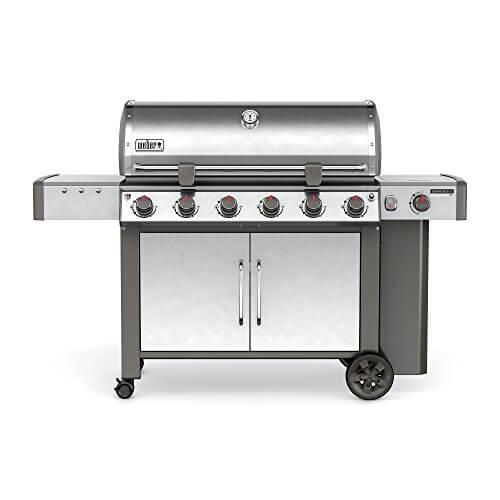 Weber 63004001 Genesis II LX S-640 Liquid Propane Grill, Stainless Steel