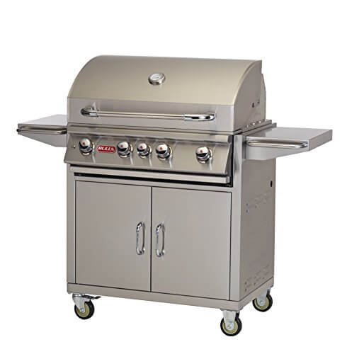 Bull Outdoor Products BBQ 44001 Angus 75,000 BTU Grill with Cart, Natural Gas