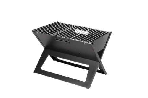 Fire Sense Notebook Charcoal Grill, Camping BBQ Tailgating, New