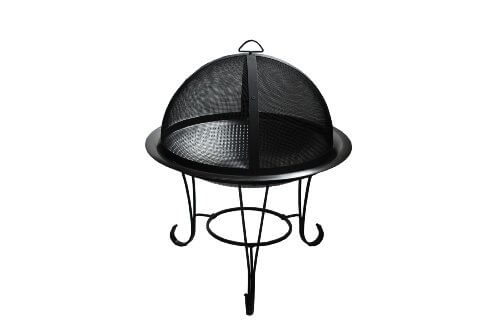 Fire Sense  Cocktail Fire Pit, Stainless Steel