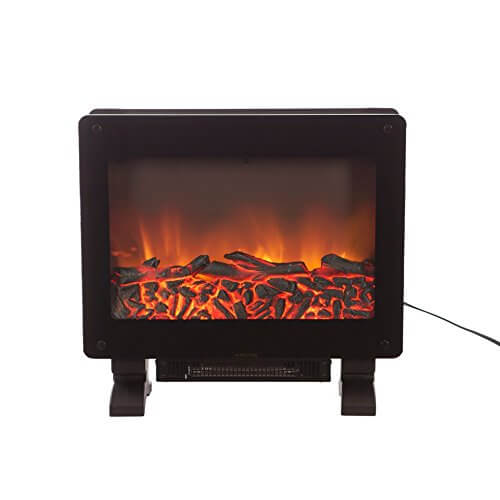 Fire Sense 62413 Elegante Electric Fireplace, Black