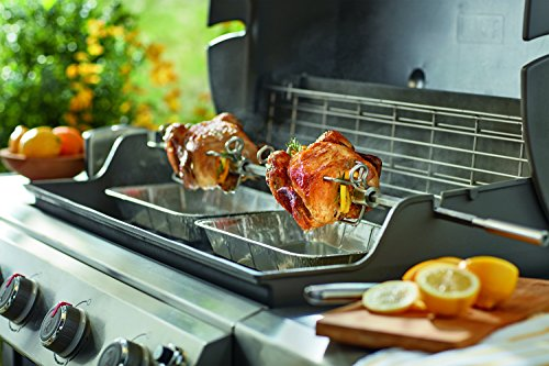 Weber 7653 Rotisserie for Use with Genesis II & II LX 4 & 6 Burner Grills
