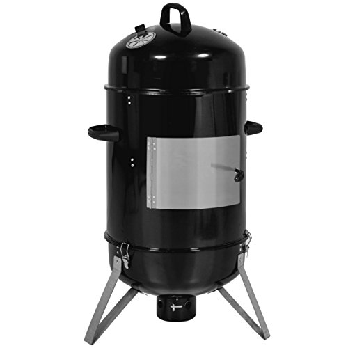 Best Choice Products Outdoor Cooking BBQ 18-Inch Charcoal Vertical Smoker