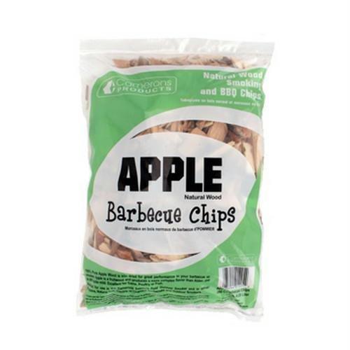 Apple Wood Smoker Chips- 100% Natural, Coarse Wood Smoking and Barbecue Chips- 2 lb. Bag