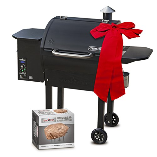 Camp Chef SmokePro DLX PG24 Pellet Grill With Patio Cover – Holiday Bundle