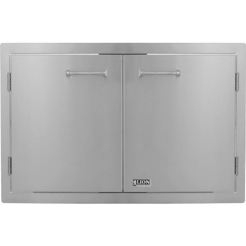 Lion Premium Grills L3322 Double Door 33″x22″