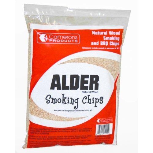 Alder Wood Smoker Chips- 100% Natural Wood Smoking and Barbecue Chips- 2 lb. Bag