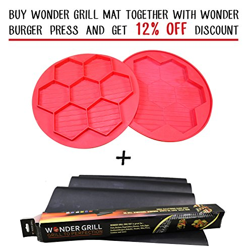 Set of 3 BBQ Grill Mats Teflon Grilling Sheets Includes 1 XL Grill Mat Non Stick Grill pad For Gas Grill, Electric, Charcoal and Smoker