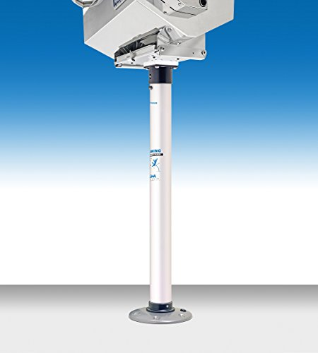 Magma Products, T10-185, Double Locking Pedestal Mount for Rectangular Grills and Single Mount Tables