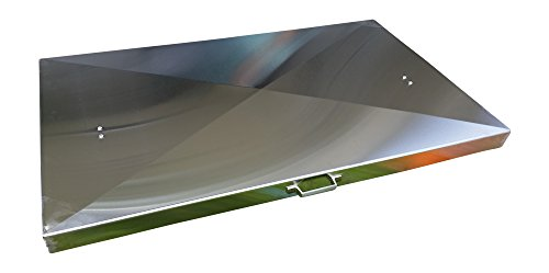 Griddle Cover, Stainless Steel, for 36-inch Blackstone Griddle with right side grease discharge