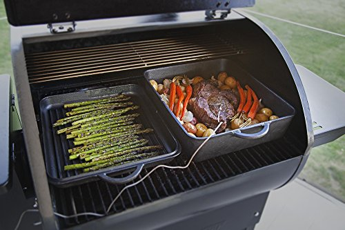 Camp Chef SmokePro DLX PG24 Pellet Grill With Patio Cover – Bundle (Full Cover)