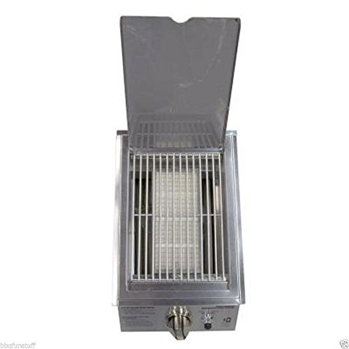 Charmglow Gas Grill Natural Gas Built In / Drop In High Output Sear Burner Stainless Steel