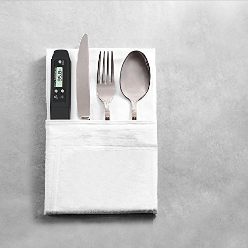 Master Cook Pocket Meat Thermometer Instant Read, Mini, Black