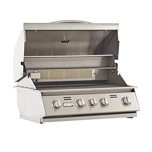 Bullet Outdoor Kitchen Built in 4 Burner Stainless Steel Liquid Propane Grill